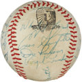 Autographs:Baseballs, 1958 New York Yankees Team Signed Baseball. ...