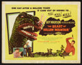 "Movie Posters:Science Fiction, The Beast of Hollow Mountain (United Artists, 1956). Lobby Card Setof 8 (11"" X 14""). Science Fiction.. ... (Total: 8 Items)"