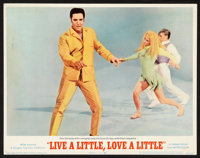 "Live a Little, Love a Little (MGM, 1968). Lobby Card Set of 8 (11"" X 14""). Elvis Presley. ... (Total: 8 Items)"