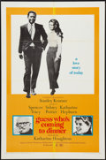 "Movie Posters:Comedy, Guess Who's Coming to Dinner (Columbia, 1967). One Sheet (27"" X41""). Comedy.. ..."
