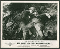 "Movie Posters:War, All Quiet on the Western Front (Universal, R-1940s). British Stills(6) ( (8"" X 10""). War.. ... (Total: 6 Items)"