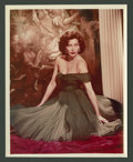 "Movie Posters:Miscellaneous, Ava Gardner (MGM, 1950s). Color Portrait Still and Still (2) (8"" X10"").. ... (Total: 2 Items)"