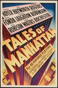 "Tales of Manhattan (20th Century Fox, 1942). One Sheet (27"" X 41"") Style A. Drama"