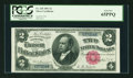 Large Size:Silver Certificates, Fr. 245 $2 1891 Silver Certificate PCGS Gem New 65PPQ....