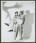 """Movie Posters:Comedy, Dean Martin and Jerry Lewis in """"Scared Stiff"""" by Bud Fraker(Paramount, 1953). Still (8"""" X 10""""). Comedy.. ..."""