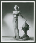 "Movie Posters:Fantasy, Lili St. Cyr in Son of Sinbad by Ernest Bachrach (RKO, 1955). PinupPhoto (8"" X 10""). Fantasy.. ..."