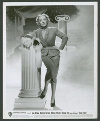 "Marlene Dietrich in ""Stage Fright"" (Warner Brothers, 1950). Still (8"" X 10""). Hitchcock"