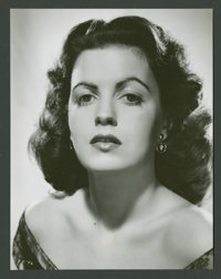 "Faith Domergue (RKO, 1950s). Stills (10) (7.25"" X 9.25""). Miscellaneous. ... (Total: 10 Items)"