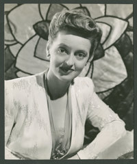 "Bette Davis in ""Now, Voyager"" Lot (Warner Brothers, 1942). Stills (2) (7.25"" X 8.75"" & 8&quo..."
