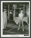 "Movie Posters:Comedy, Marilyn Monroe and Tom Ewell in ""The Seven Year Itch"" (20th CenturyFox, 1955). Still (8"" X 10""). Comedy.. ..."