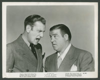 """Bud Abbott and Lou Costello in """"Little Giant"""" (Universal, 1946). Still (8"""" X 10""""). Comedy"""