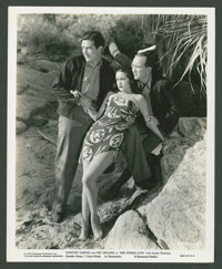 """Dorothy Lamour and Ray Milland in """"Her Jungle Love"""" (Paramount, 1938). Still (8"""" X 10""""). Adventure..."""