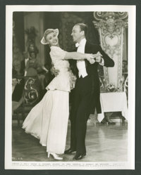 """Fred Astaire and Ginger Rogers in """"The Story of Vernon and Irene Castle"""" (RKO, 1939). Still (8"""" X 10""""..."""