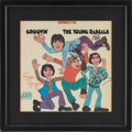 Music Memorabilia:Autographs and Signed Items, The Young Rascals Band-Signed Groovin' Album Cover....