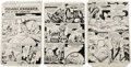"""Original Comic Art:Panel Pages, Jack Kirby - Captain Victory and the Galactic Rangers #5, Complete5-page Story """"King of the Unwanted"""" Original Art (Pacific C..."""