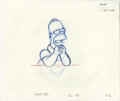 "Animation Art:Production Drawing, ""The Simpsons"" - Animation Drawing Original Art, Group of 51 (Fox).... (Total: 51)"