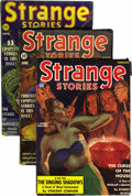 Pulps:Horror, Strange Stories Group (Better Publications, 1939) Condition:Average VG+.... (Total: 4)