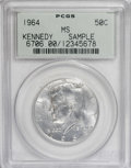 Kennedy Half Dollars: , 1964 50C Sample Kennedy PCGS. Although PCGS failed to designate agrade, we believe it's a MS63. NGC...