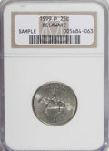 Statehood Quarters: , 1999-P 25C Sample Delaware NGC. Although NGC failed to designate agrade, we believe it's a MS63. NGC Census: (0/0). PCGS ...