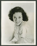 "Movie Posters:Adventure, Maureen O'Sullivan in ""Tarzan and His Mate"" (MGM, 1934). PortraitStill (8"" X 10""). Adventure.. ..."