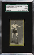 Boxing Cards:General, 1910 T226 Red Sun Jim Stewart SGC 80 EX/NM 6 - Highest GradedExample!...