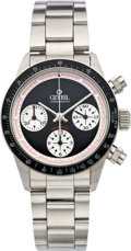 Timepieces:Wristwatch, Gevril Gent's Limited Edition Automatic Chronograph, modern. ...