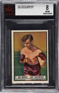 Boxing Cards:General, 1951 Topps Ringside Bob Murphy SP #49 BVG NM-MT 8....