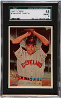 Baseball Cards:Singles (1950-1959), 1957 Topps Mike Garcia #300 SGC 88 NM/MT 8....