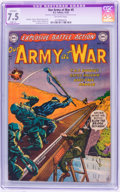 Golden Age (1938-1955):War, Our Army at War #5 (DC, 1952) CGC Apparent VF- 7.5 Slight (A)Off-white pages....