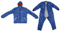 Explorers:Space Exploration, Soyuz Flown TZK Cold Weather Jumpsuit, Signed by Cosmonaut Sergei Zalyotin. ... (Total: 6 Items)