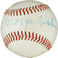 Autographs:Baseballs, 1950's George Sisler Single Signed Baseball....