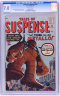 Silver Age (1956-1969):Adventure, Tales of Suspense #16 (Marvel, 1961) CGC FN/VF 7.0 Off-white pages....