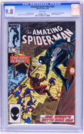Modern Age (1980-Present):Superhero, The Amazing Spider-Man CGC-Graded Group (Marvel, 1985-86) CGC NM/MT9.8 White pages.... (Total: 5 )