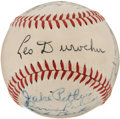 Autographs:Baseballs, 1947 Brooklyn Dodgers Team Signed Baseball. ...