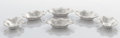 Silver Holloware, American:Bowls, A SET OF SIX AMERICAN SILVER NUT DISHES. Samuel Kirk & Son,Co., Baltimore, Maryland, circa 1930. Marks: S KIRK & SONINC,... (Total: 6 Items)
