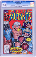 Modern Age (1980-Present):Superhero, The New Mutants #87 and 98 Group (Marvel, 1990-91) CGC NM/MT 9.8White pages.... (Total: 2 )