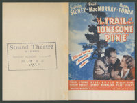 "The Trail of the Lonesome Pine Lot (Paramount, 1936). Heralds (2) (9"" X 12"", Folded Out). Drama. ... (Total: 2..."