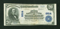 National Bank Notes:Kentucky, Adairville, KY - $20 1902 Plain Back Fr. 652 The First NB Ch. #8814. ...