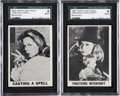 "Non-Sport Cards:Lots, 1965 Topps Test ""Bewitched"" SGC-Encapsulated Pair (2)...."