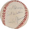Autographs:Baseballs, Circa 1979 Thurman Munson Single Signed Baseball....