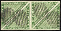 Stamps, 3p Green (3),...