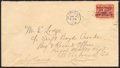 """Stamps, 1919 $1 on 15c Scarlet, Comma Omitted, """"A"""" under """"a"""" (C2c),..."""