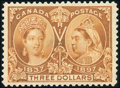 Stamps, $3 Yellow Bister (63),...