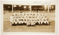Autographs:Photos, 1948 New York Yankees Team Signed Large Photograph....