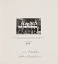 Music Memorabilia:Autographs and Signed Items, Beatles Related - Max Scheler and Astrid Kirchherr SignedLiverpool Days Limited Edition....