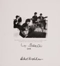Music Memorabilia:Autographs and Signed Items, Beatles Related - Max Scheler and Astrid Kirchherr Signed GoldenDreams Limited Edition (Genesis Publications, 199...