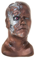 Movie/TV Memorabilia:Original Art, Arnold Schwarzenegger Terminator Bust....