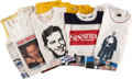 Movie/TV Memorabilia:Memorabilia, Frank Sinatra Vintage Tour T-Shirts and Others, Set of 14....(Total: 14 )