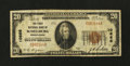 National Bank Notes:Pennsylvania, Schellburg, PA - $20 1929 Ty. 1 The First NB Ch. # 10666. ...