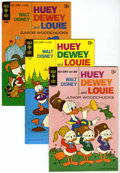 Bronze Age (1970-1979):Cartoon Character, Huey, Dewey, and Louie Junior Woodchucks File Copies Group (GoldKey, 1968-73) Condition: Average VF/NM.... (Total: 13 Comic Books)